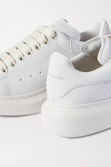 Zweifarbige Sneakers Aus Leder Mit überstehender Sohle by Alexander Mc Queen