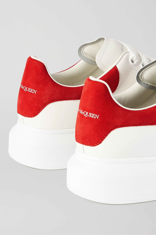 alexander mcqueen's red