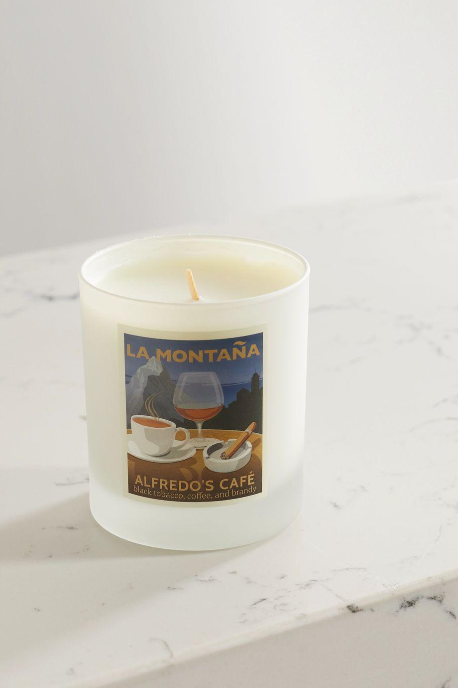 La Montaña Alfredo's Café Candle, 220g