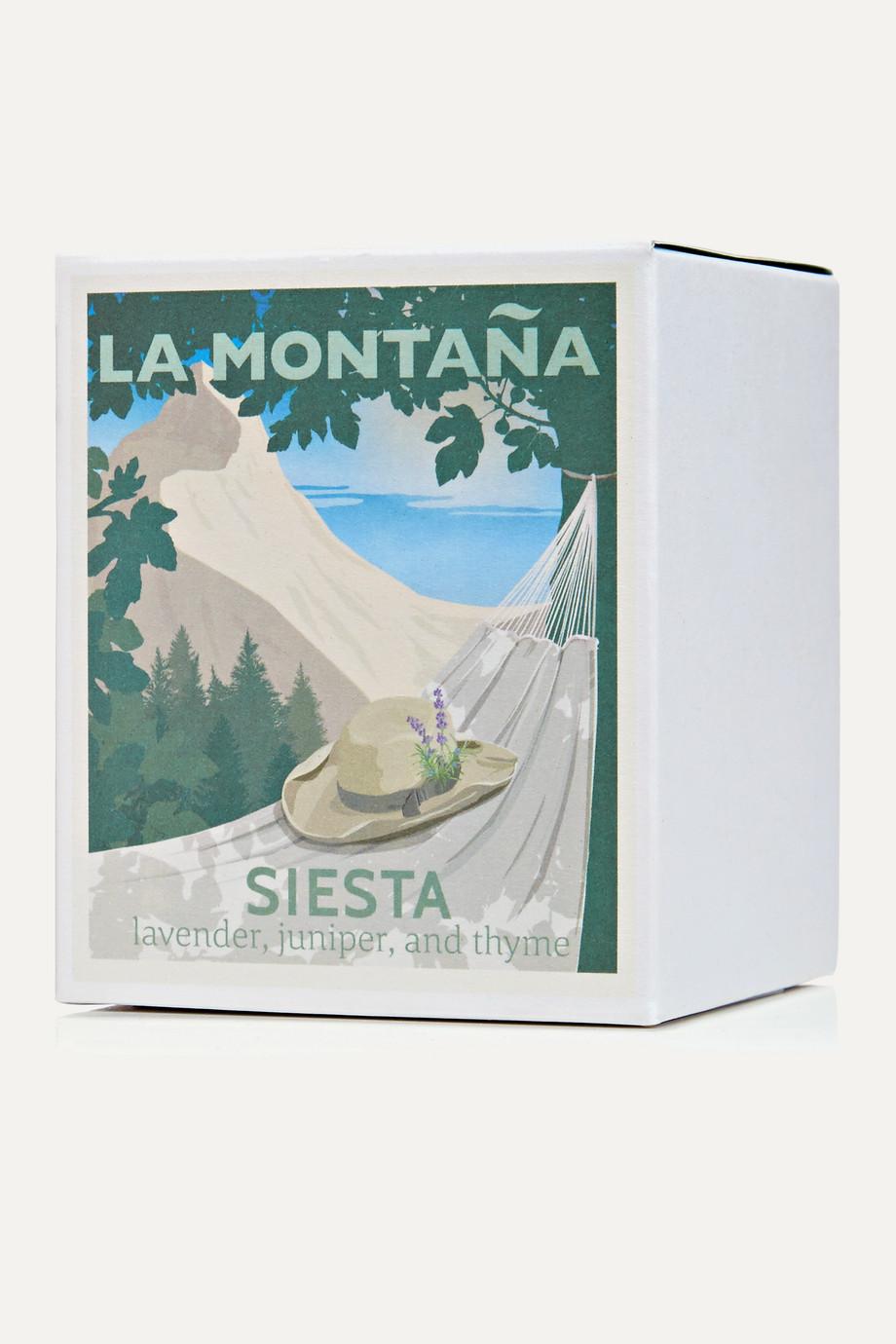 La Montaña Siesta scented candle, 220g