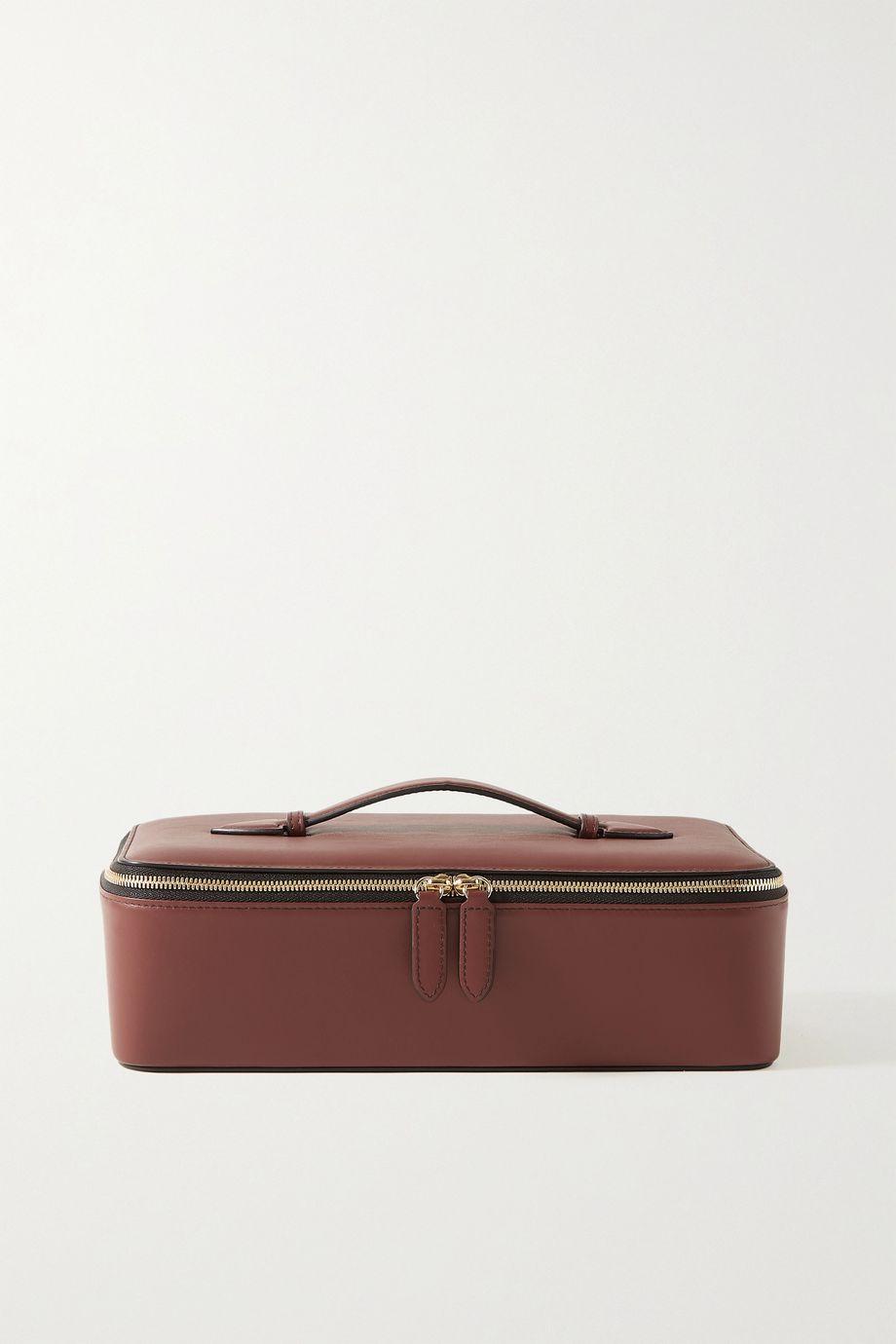 Smythson Leather jewelry case