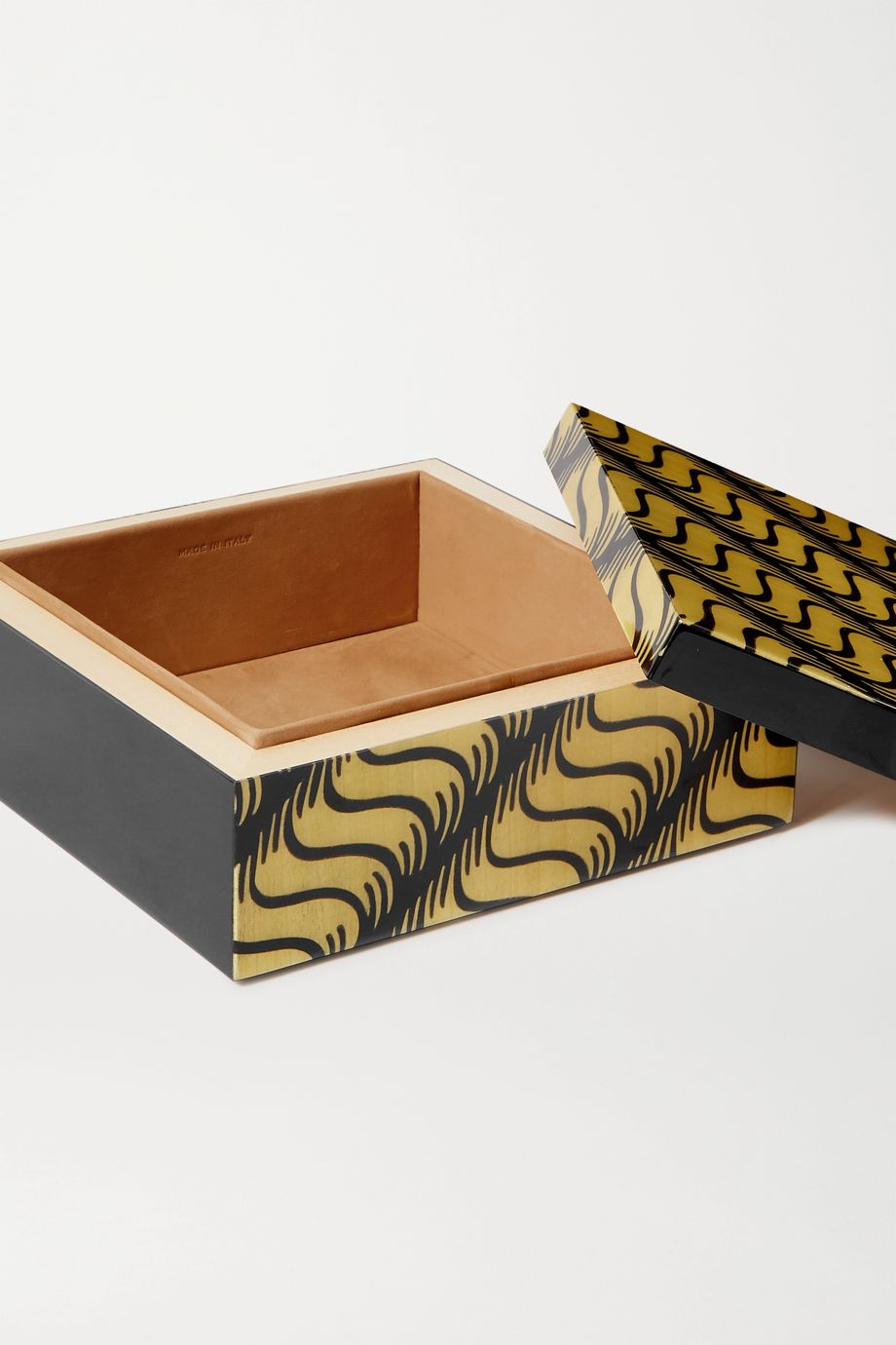 Smythson Marquetry wood box