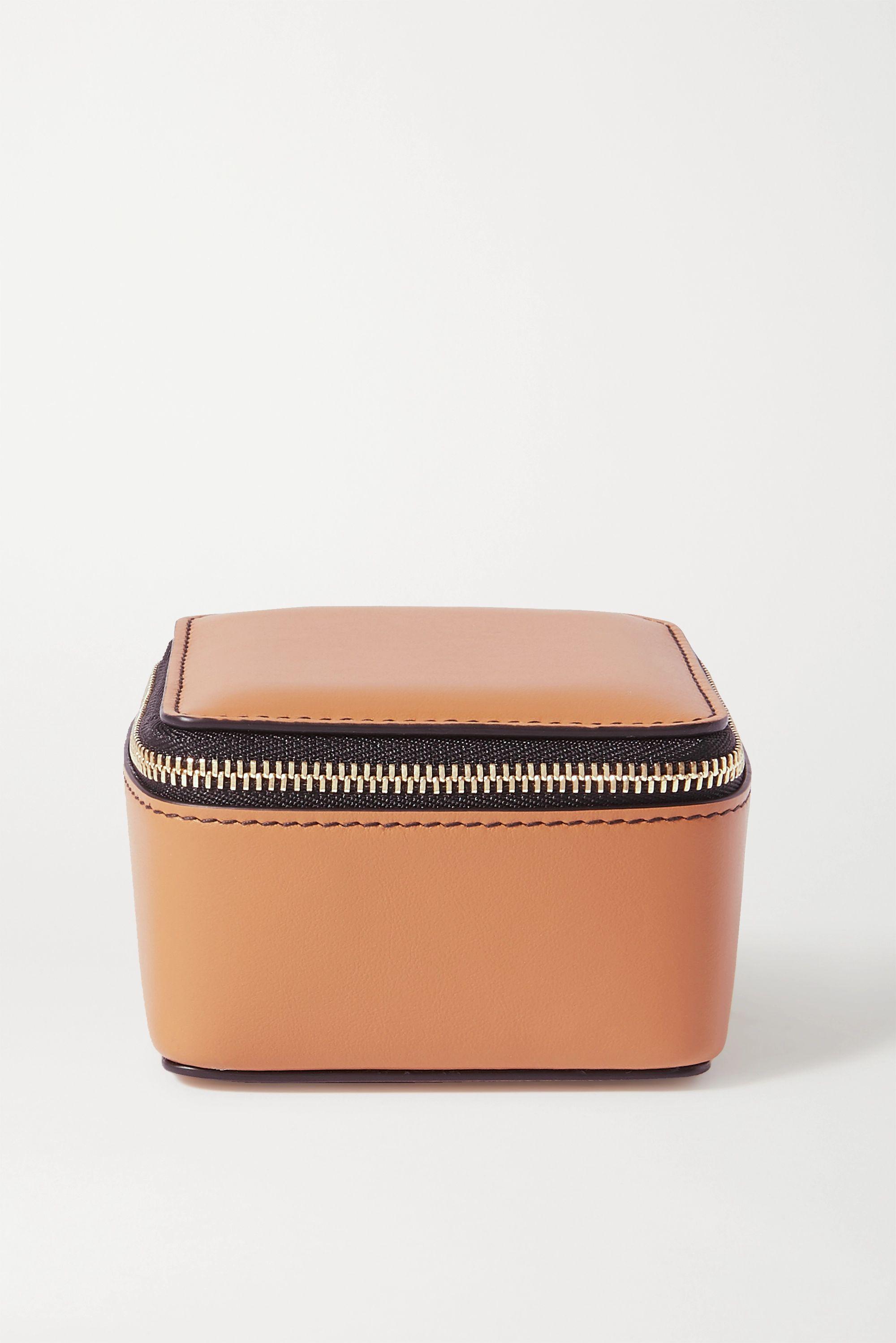 Smythson Bond leather pouch