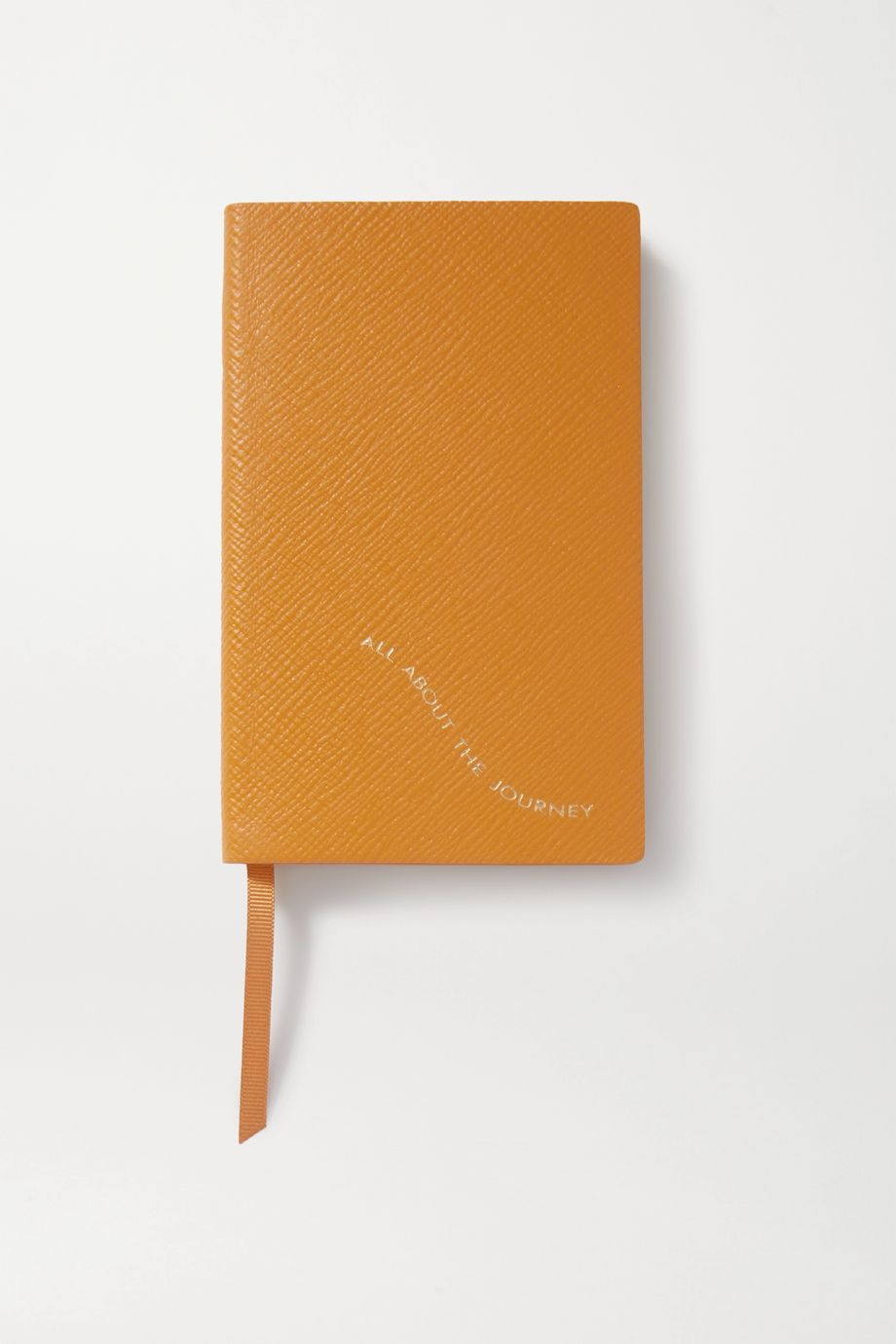 Smythson Panama All About The Journey textured-leather notebook