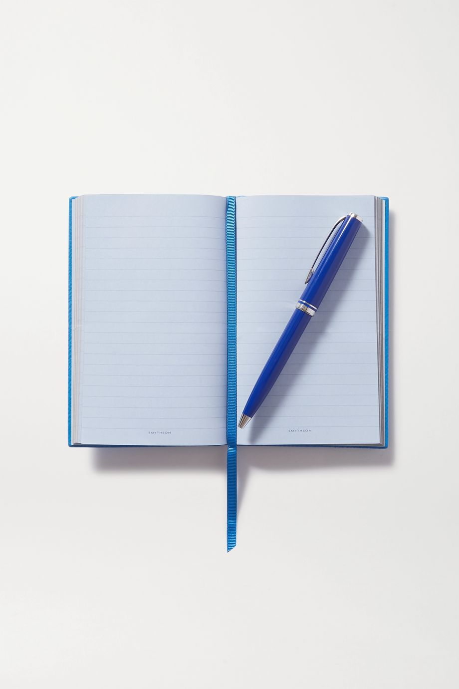 Smythson Panama Lateral Thinking textured-leather notebook