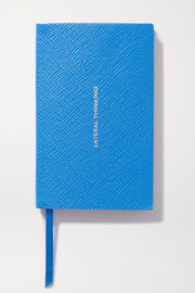 Panama Lateral Thinking textured-leather notebook