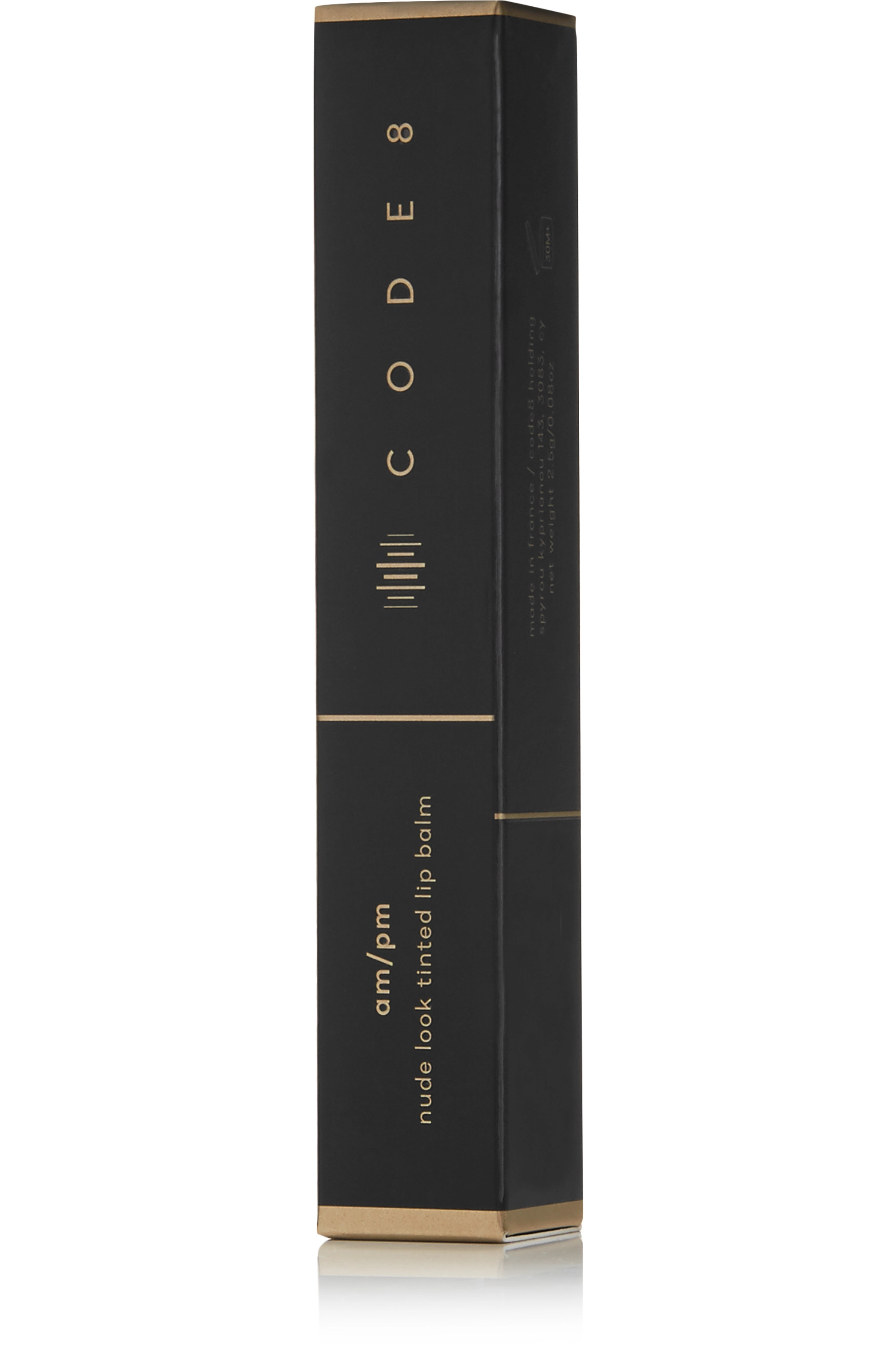 Code8 AM/PM Tinted Lip Balm - At The Barre