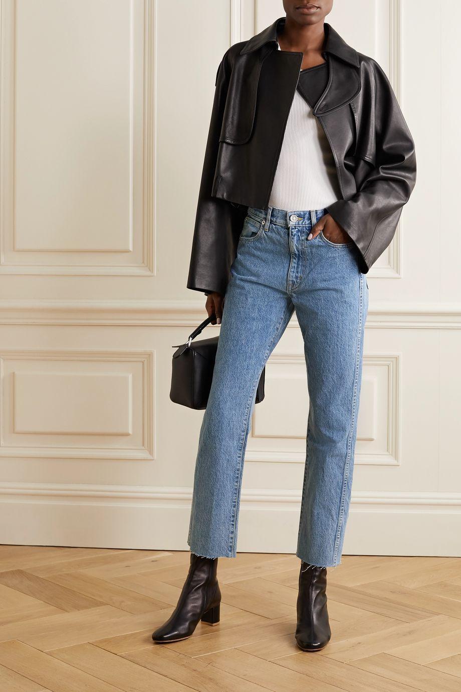 SLVRLAKE Hero high-rise straight-leg jeans