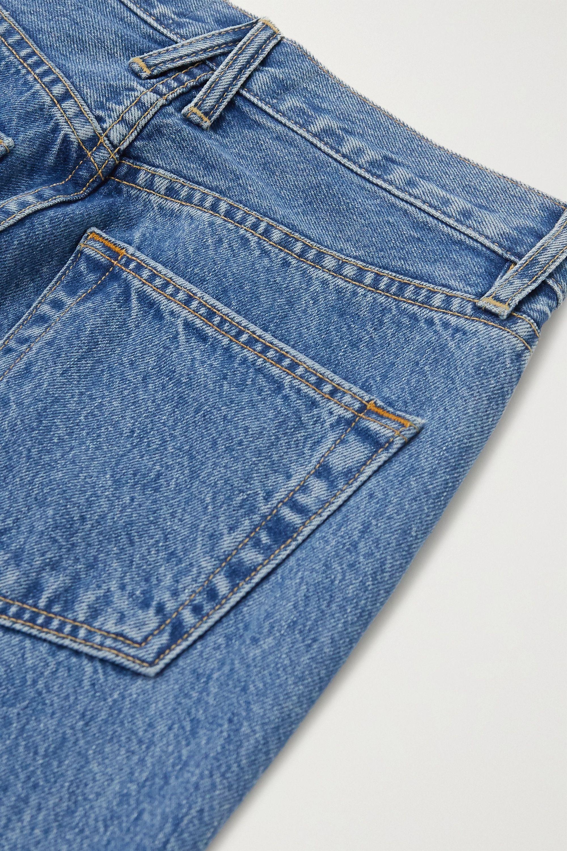 SLVRLAKE Charlotte high-rise flared jeans