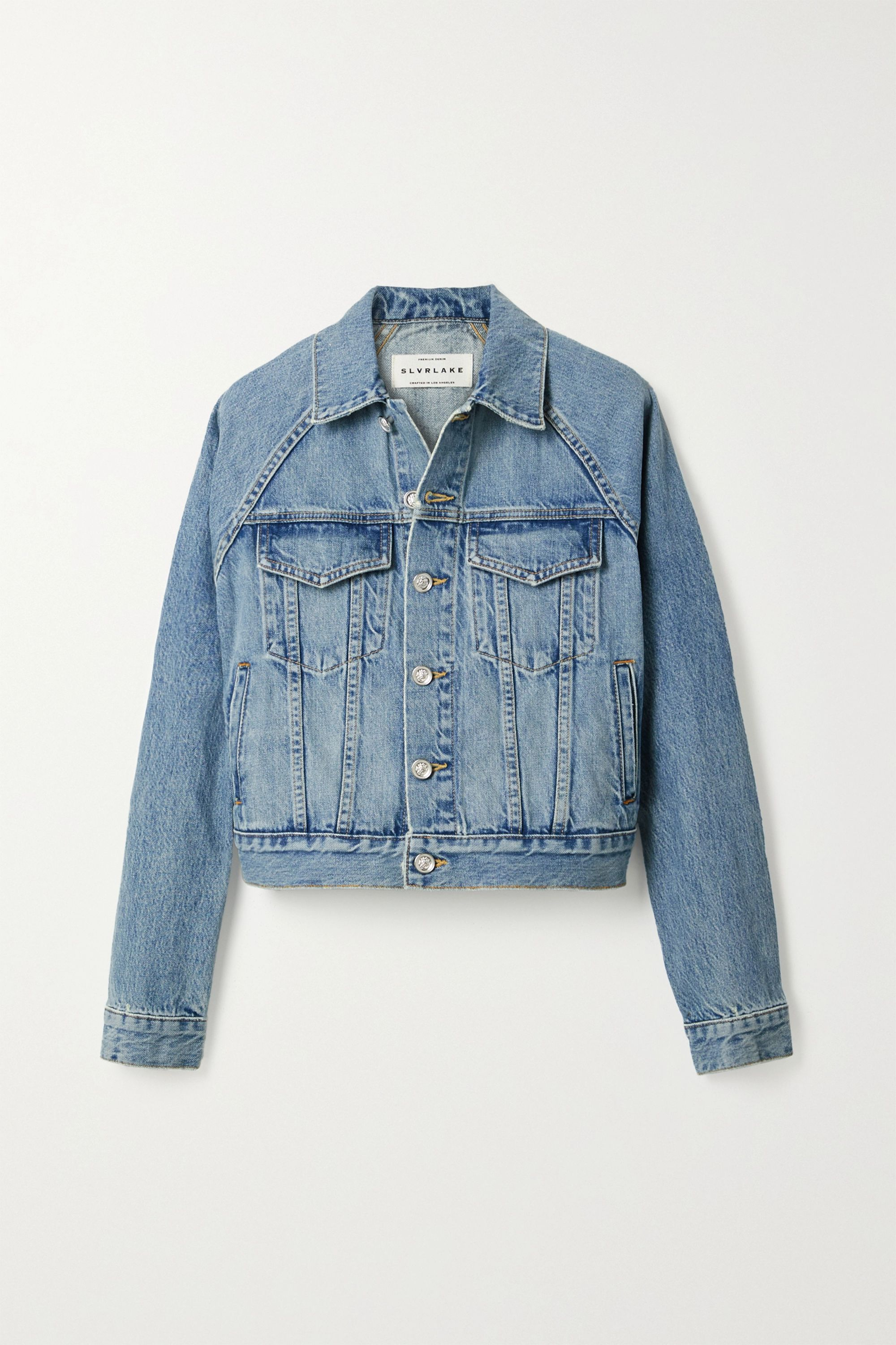 SLVRLAKE Silence denim jacket