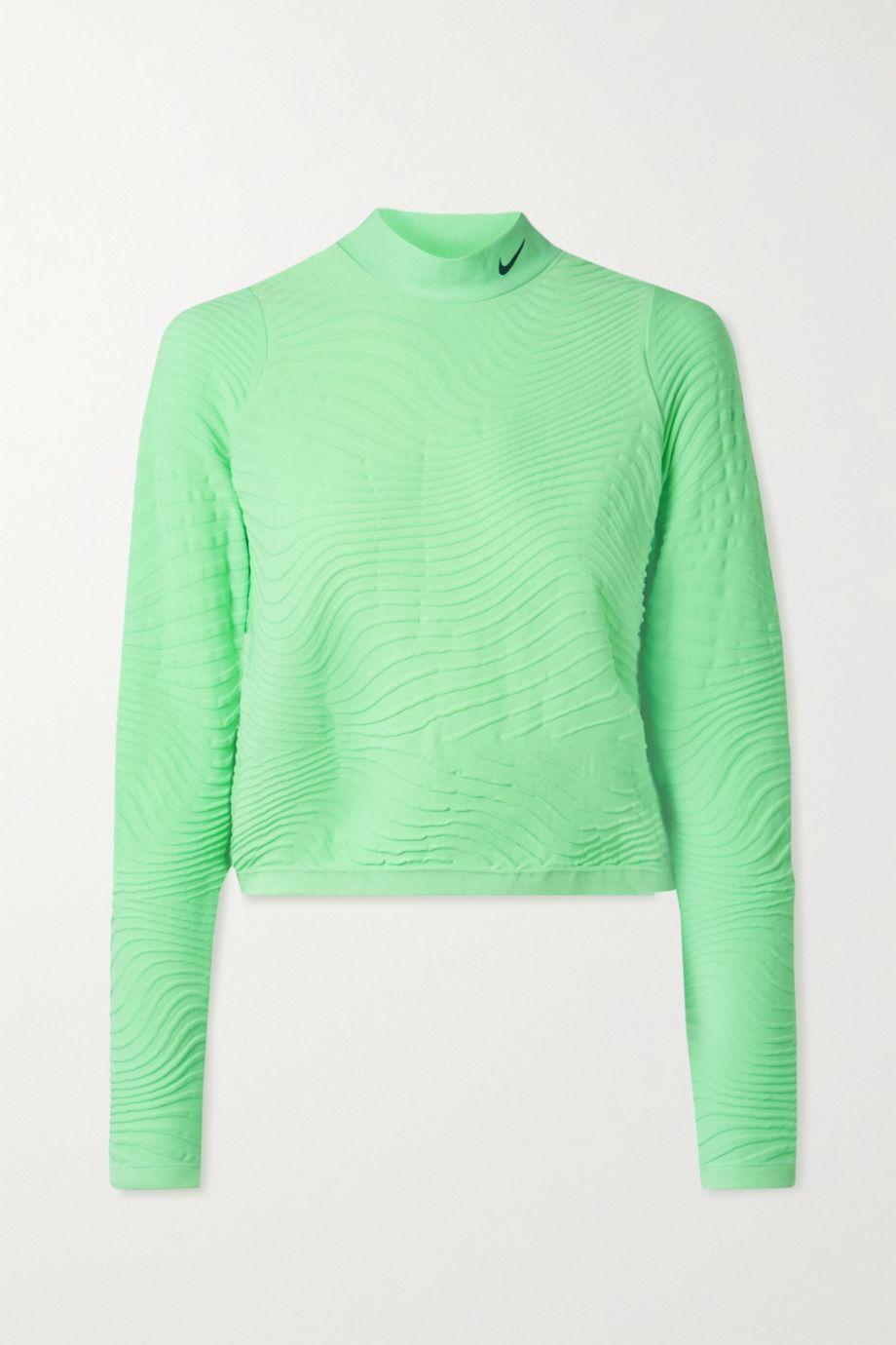 Nike City Ready jacquard-knit top