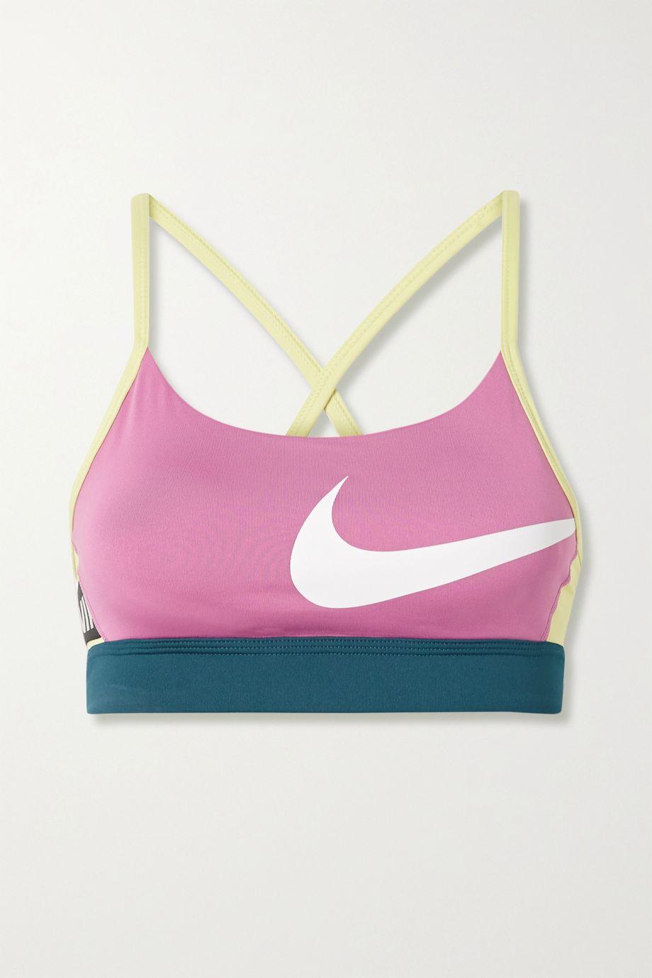 Nike Icon Clash color-block Dri-FIT sports bra
