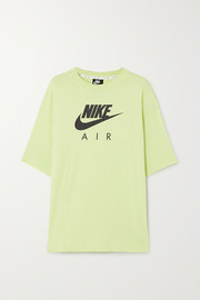 Nike Air printed cotton-jersey T-shirt