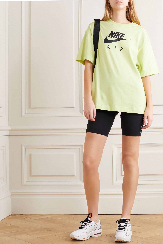 Nike Air printed cotton-jersey T-shirt