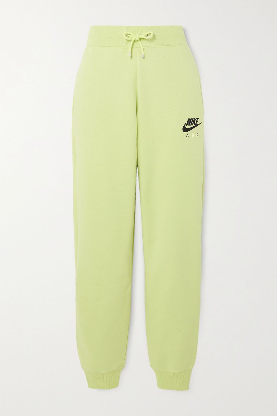 Nike Neon printed cotton-blend jersey track pants