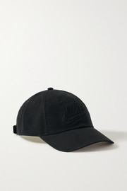 Nike Heritage86 appliquéd cotton-twill baseball cap