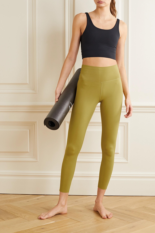 Light Green Yoga Luxe Dri Fit Leggings Nike Net A Porter
