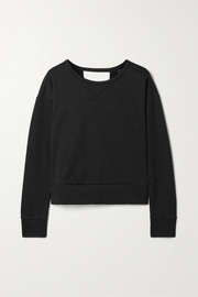Nike Wrap-effect fleece top