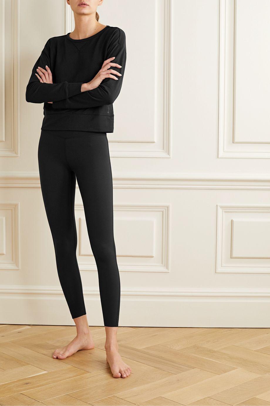 Nike Wrap-effect fleece top