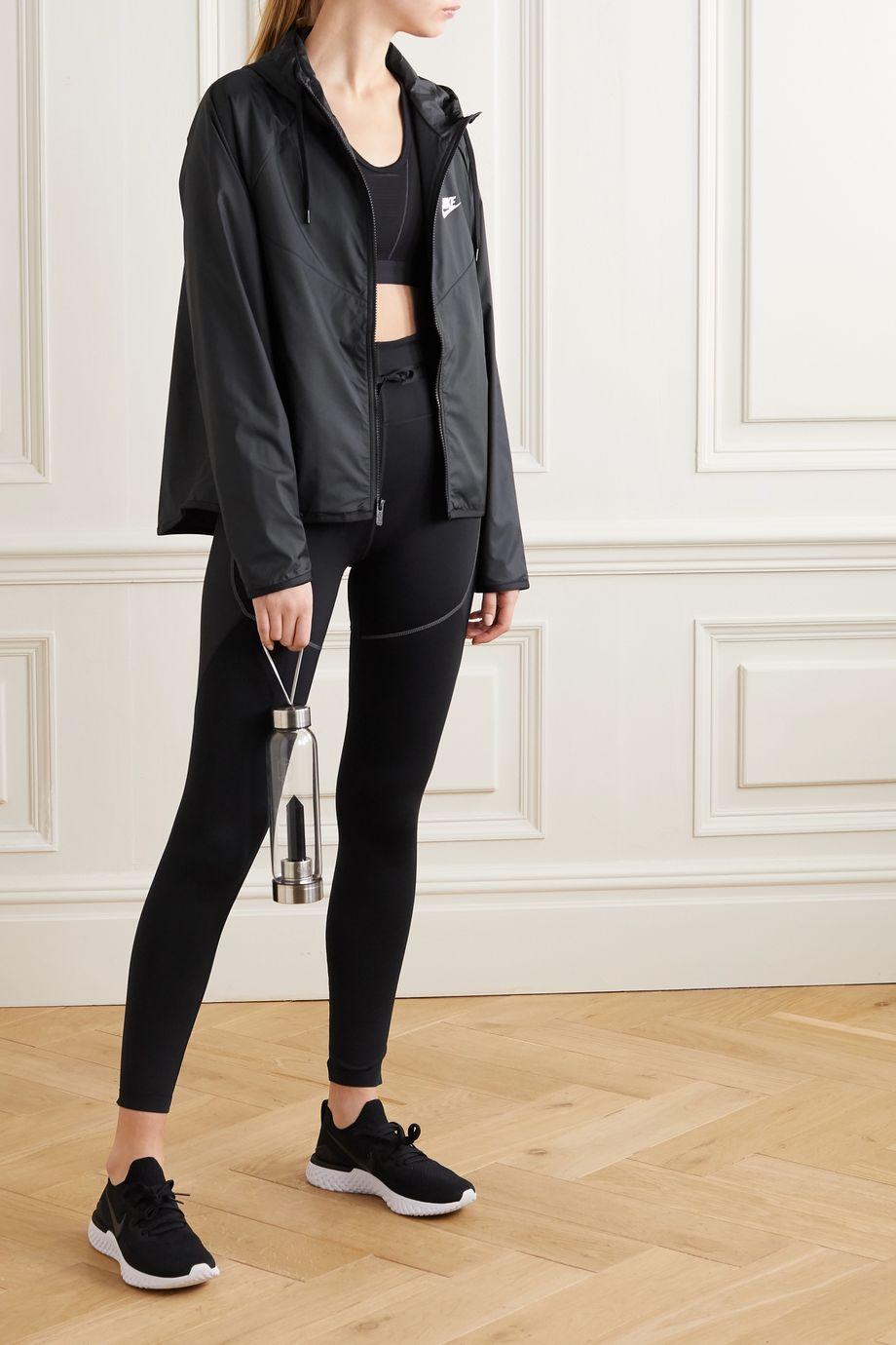 Nike Windrunner hooded printed shell track jacket