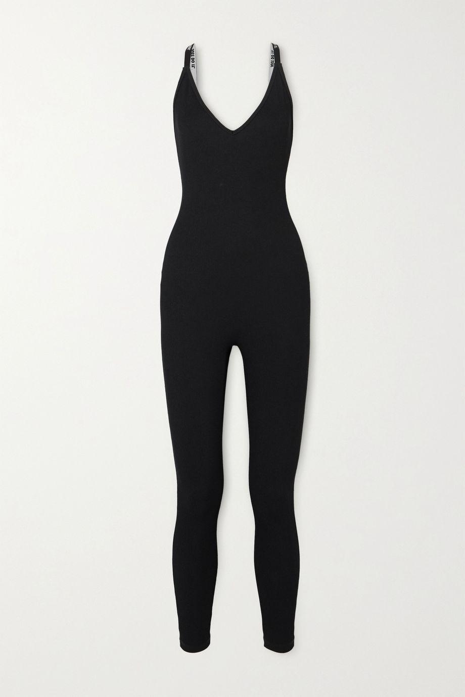 Nike Ribbed stretch-jersey bodysuit