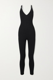 Nike Ribbed stretch-jersey bodysuit