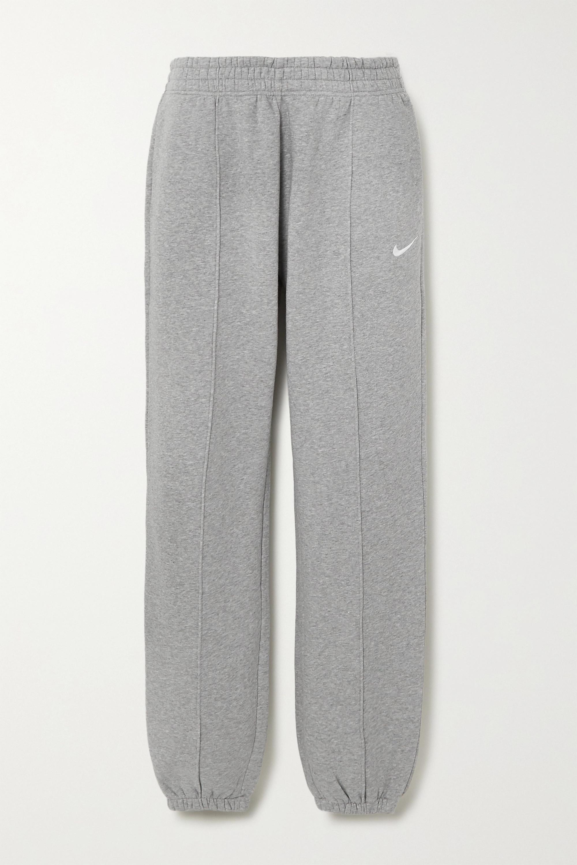 Nike Jogginghose aus Jersey aus einer Baumwollmischung mit Stickerei