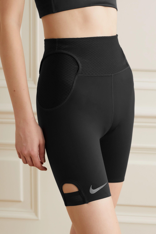 Nike City Ready Shorts aus Dri-FIT-Material mit Mesh-Einsätzen und Cut-outs