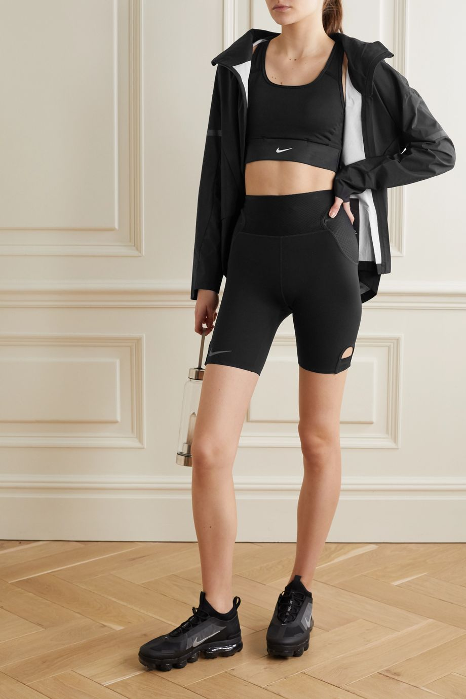 Nike City Ready cutout mesh-trimmed Dri-FIT shorts