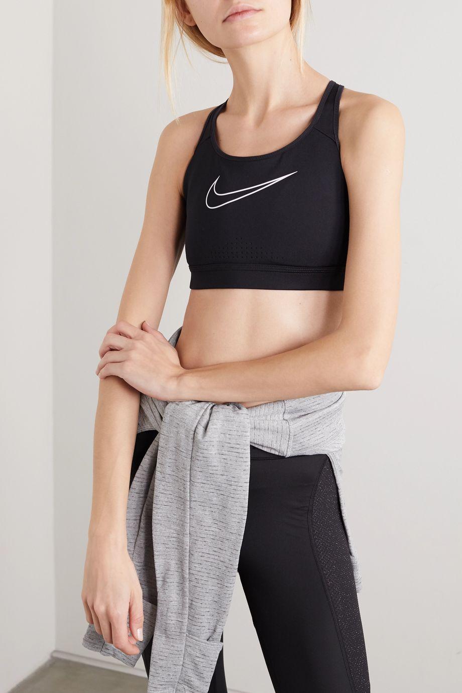 Nike Impact printed Dri-FIT sports bra