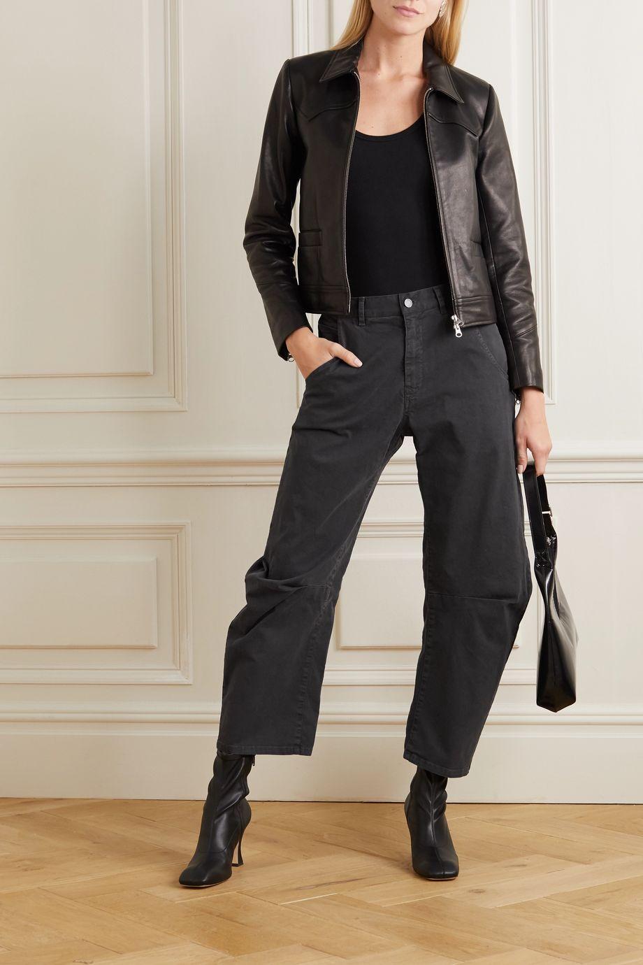 Nili Lotan Emerson cotton-blend pants