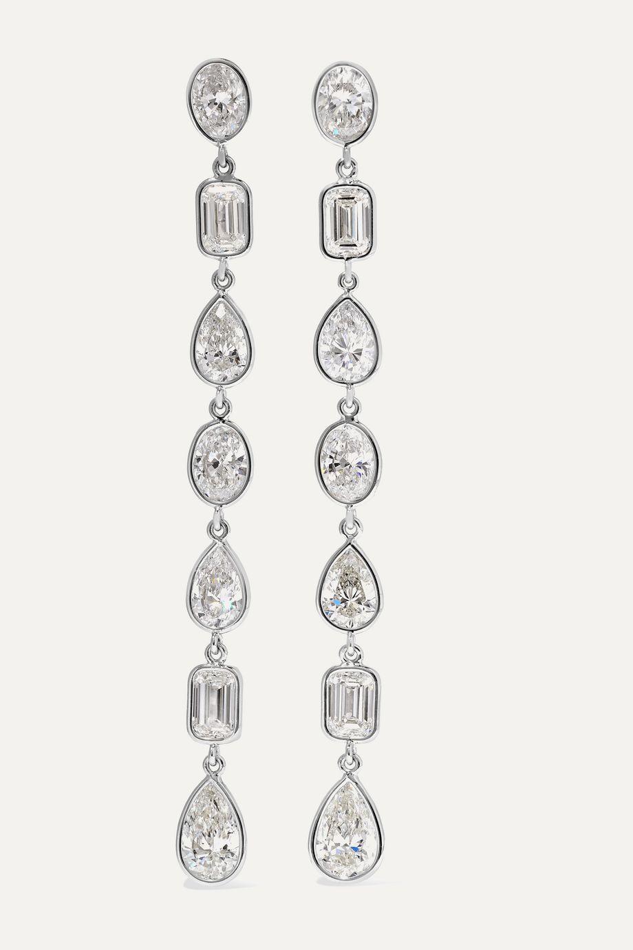 Martin Katz Ohrringe aus 18Karat Weißgold mit Diamanten