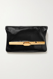 Bienen-Davis PM leather clutch