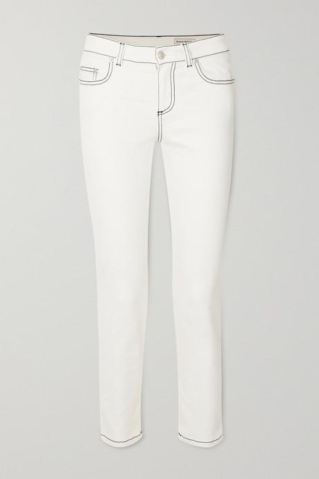 White Skinny jeans | Alexander McQueen l6DuJC
