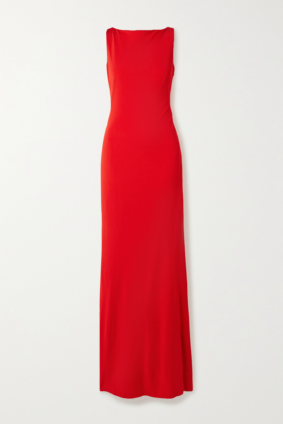 Alexander McQueen Ruched stretch-jersey gown