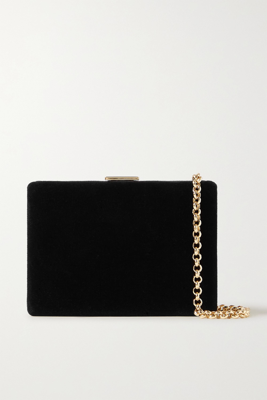 Anya Hindmarch Velvet shoulder bag