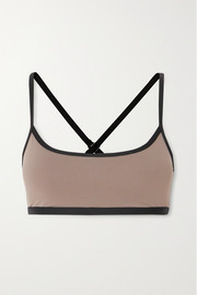 Ernest Leoty Daphne paneled stretch sports bra