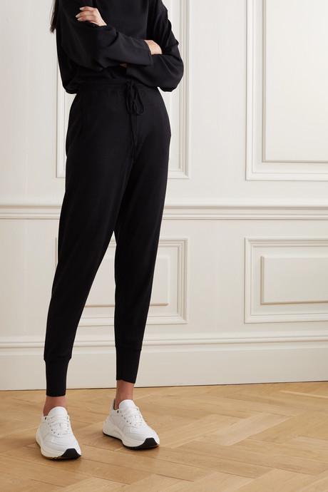 Bertille merino wool track pants