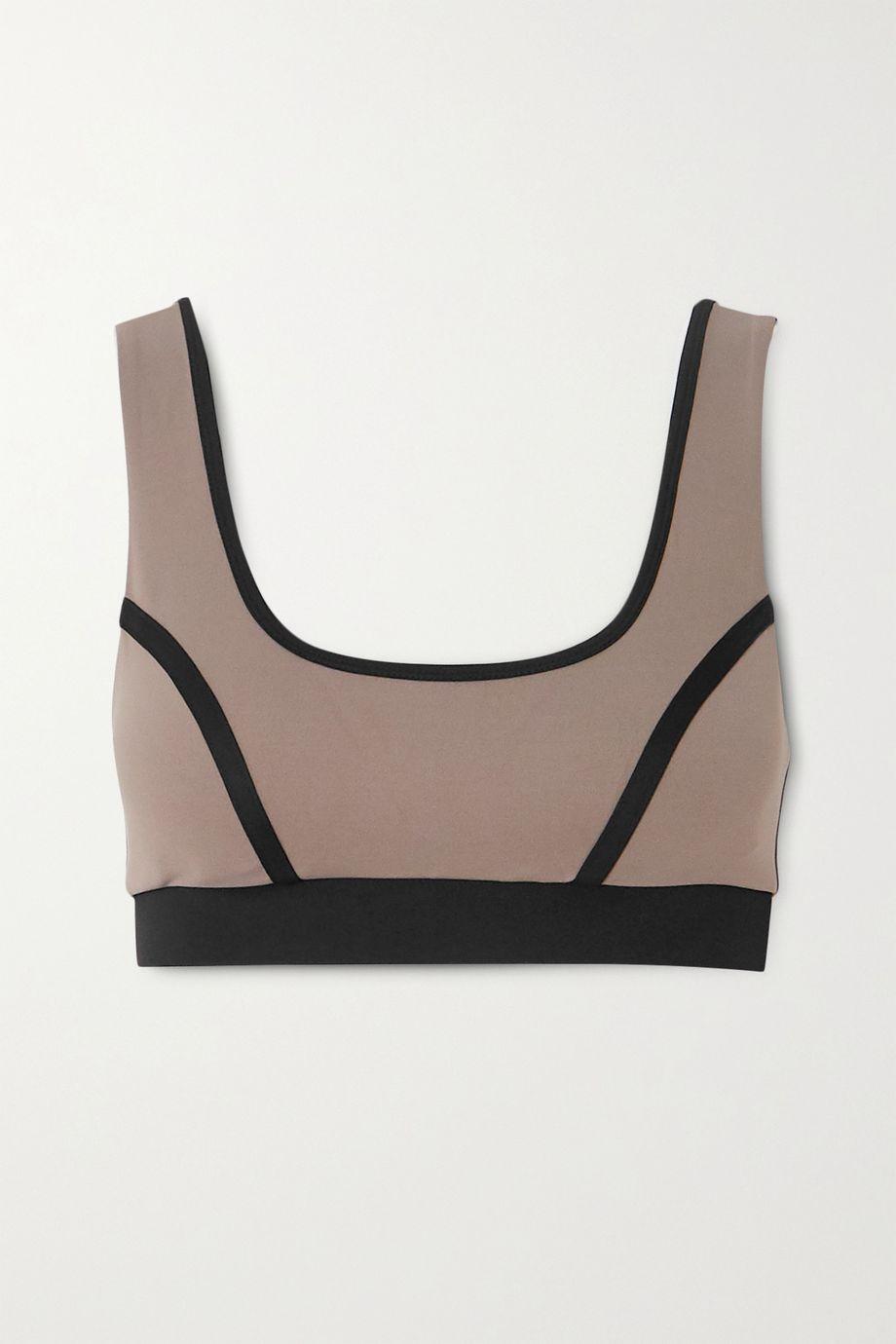 Ernest Leoty Blandine paneled stretch sports bra