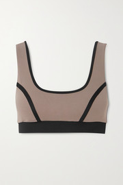 Ernest Leoty Blandine paneled stretch sports bra