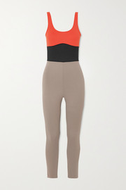 Ernest Leoty Clementine color-block stretch bodysuit