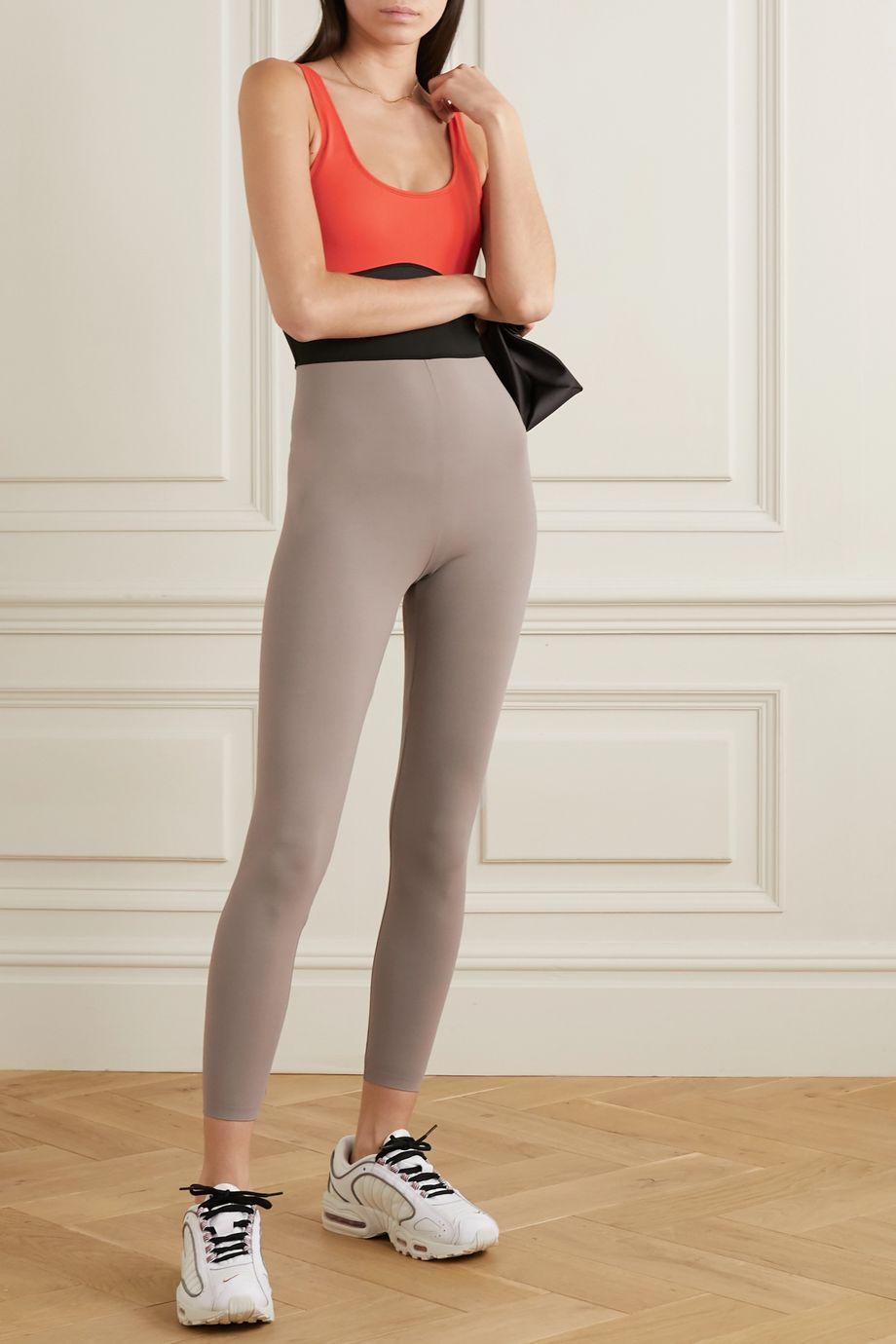 Ernest Leoty Clementine color-block stretch bodysuit