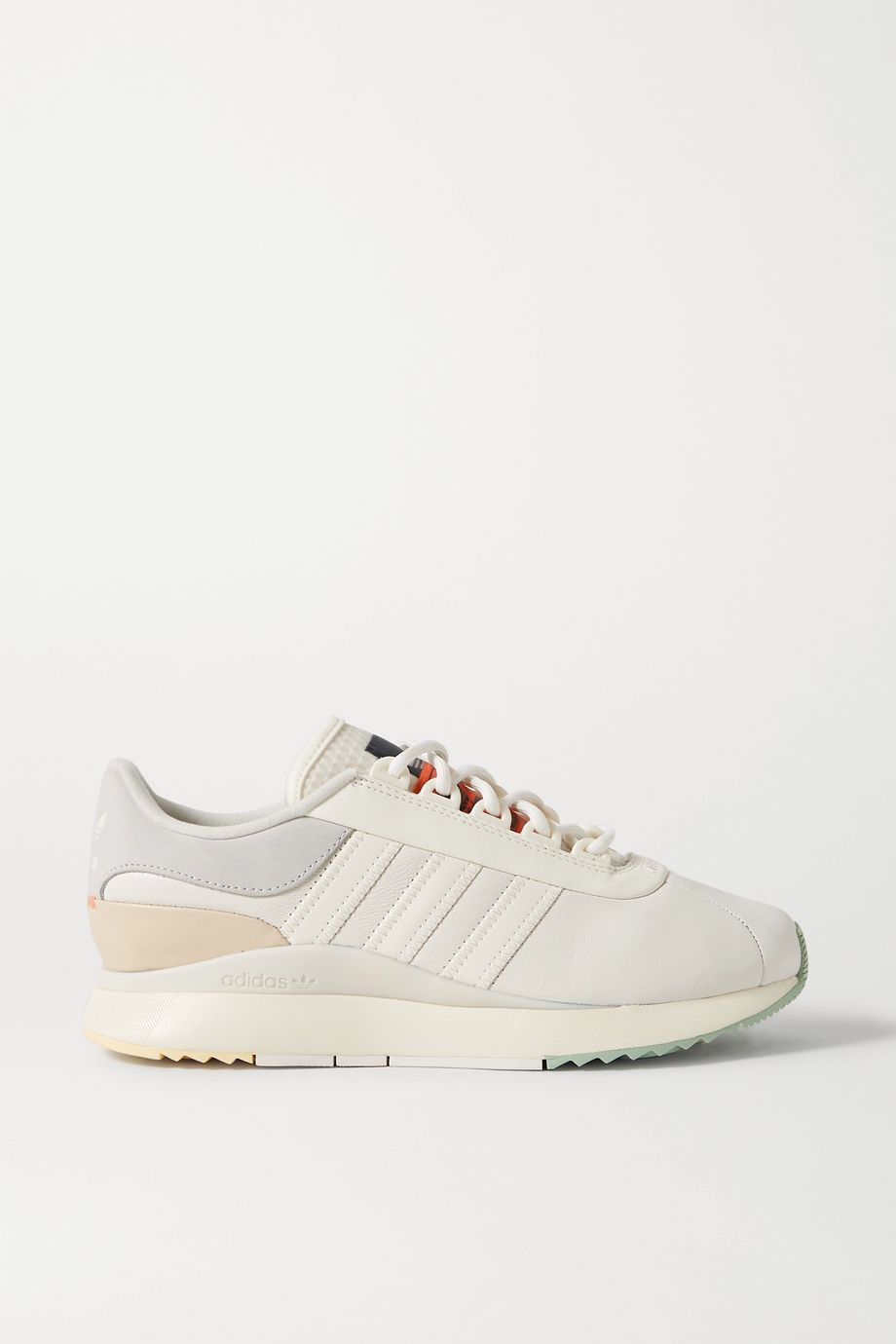 adidas Originals SL Andridge leather and suede sneakers