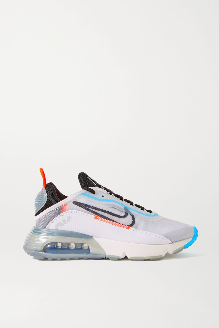 Nike Air Max 2090 ripstop, faux leather and mesh sneakers