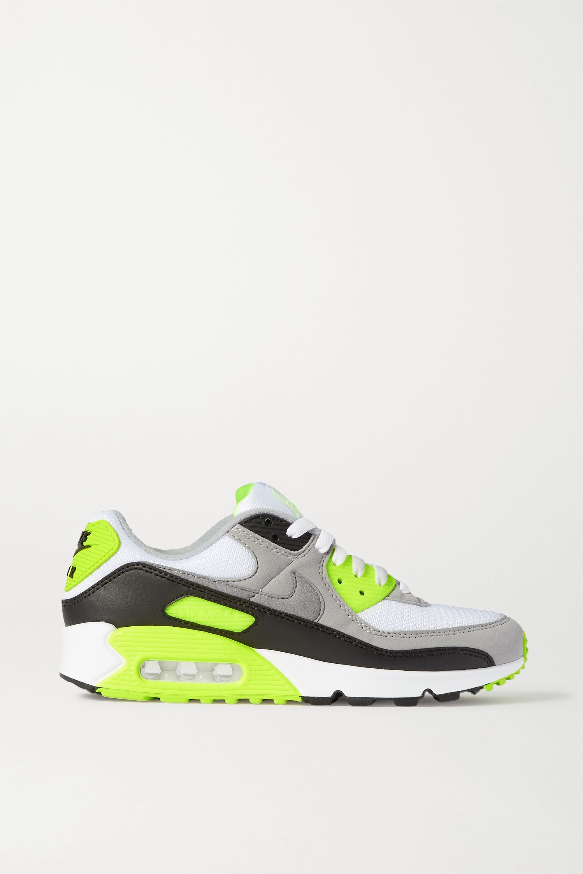 Nike Air Max 90 leather, suede and mesh sneakers