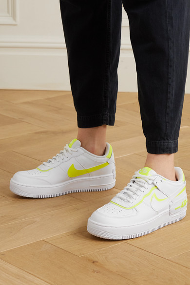 Nike Air Force 1 Shadow White Lemon (W)