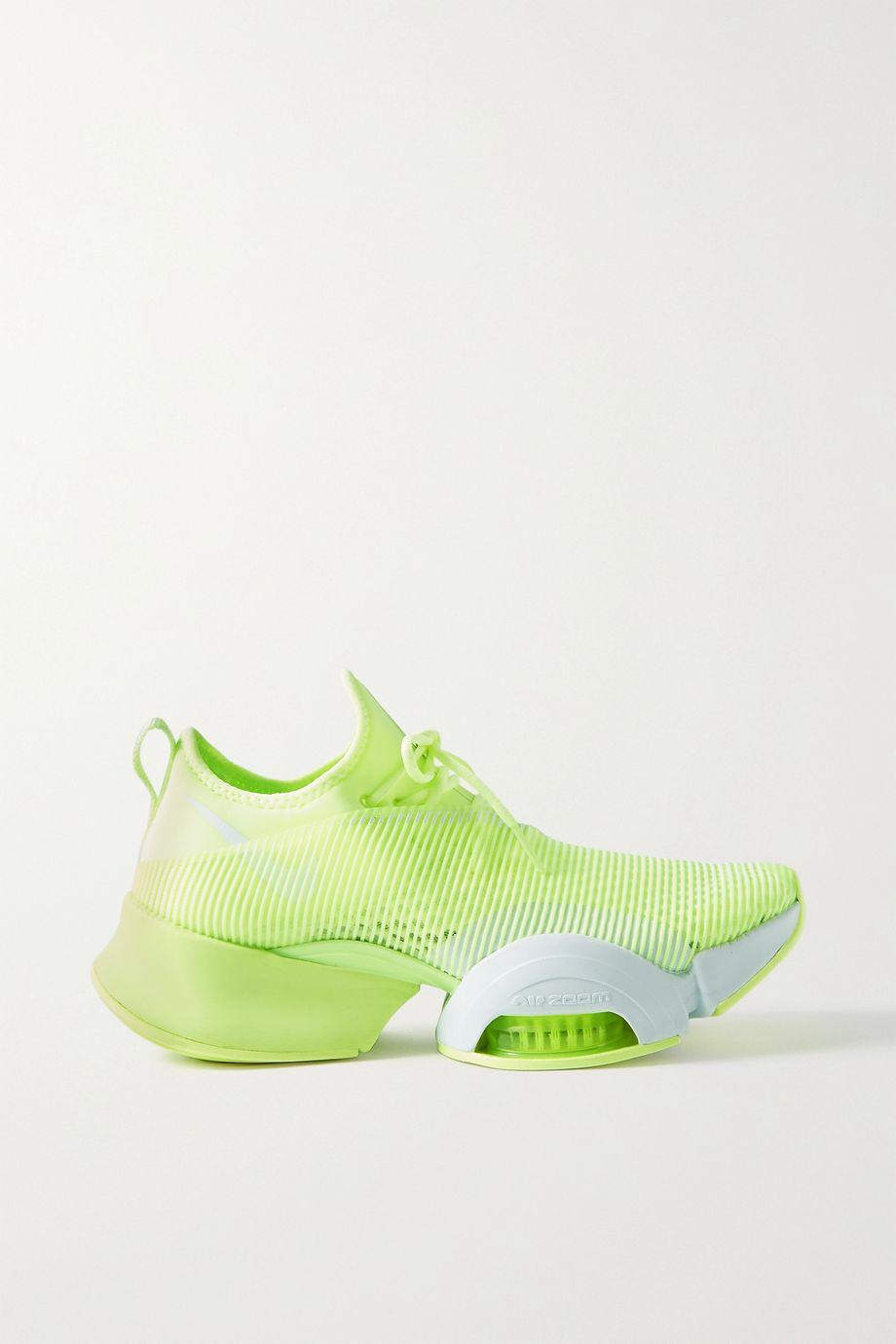 Nike Air Zoom SuperRep neoprene and mesh sneakers