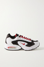 Nike Air Max Triax mesh, faux leather and felt sneakers