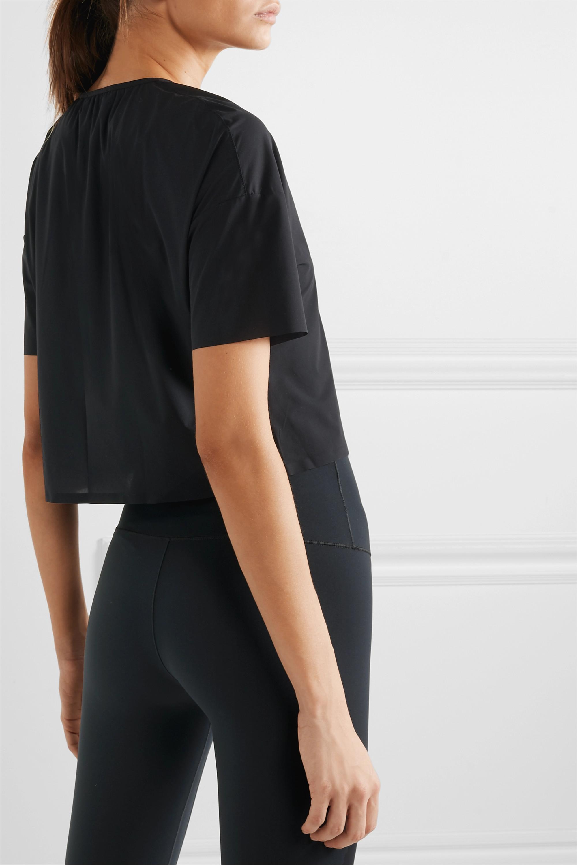 WONE Classic cropped stretch-jersey T-shirt