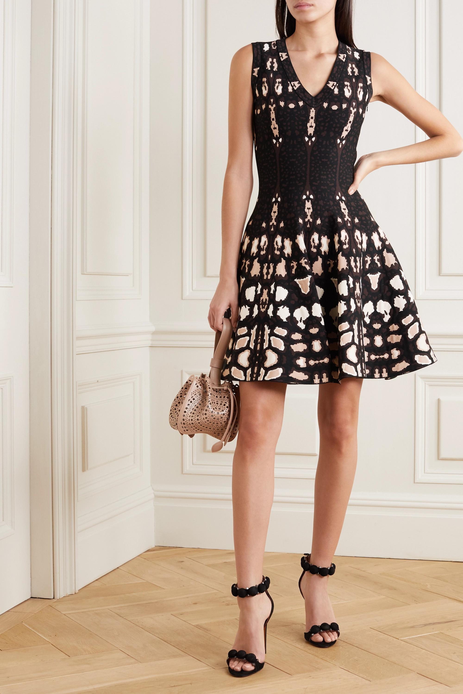 Alaïa Jacquard-knit dress